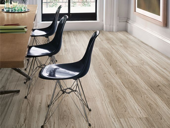 LVT Natural Woodgrains Level Set Collection Washed Wheat A00207